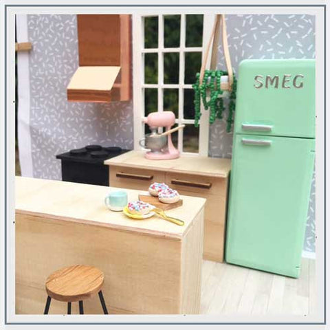 Mostly Minature Dolls House Kitchen