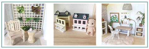 Whimsy Woods Designs Amazing Trend Miniatures For Dolls Houses.
