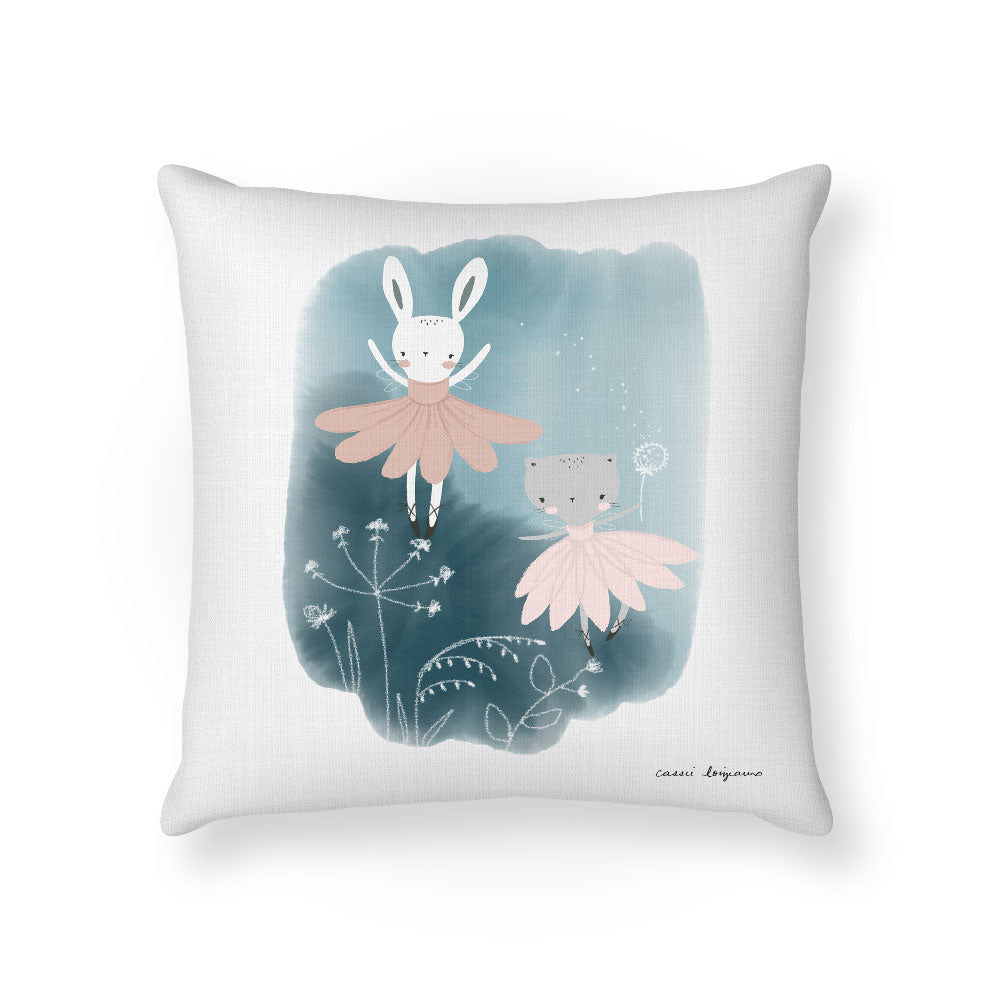 Ballerina Fairies Cushion