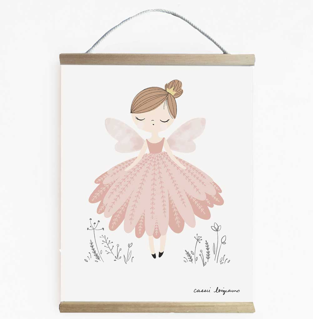 Fairy Wall Banner For Girls Room