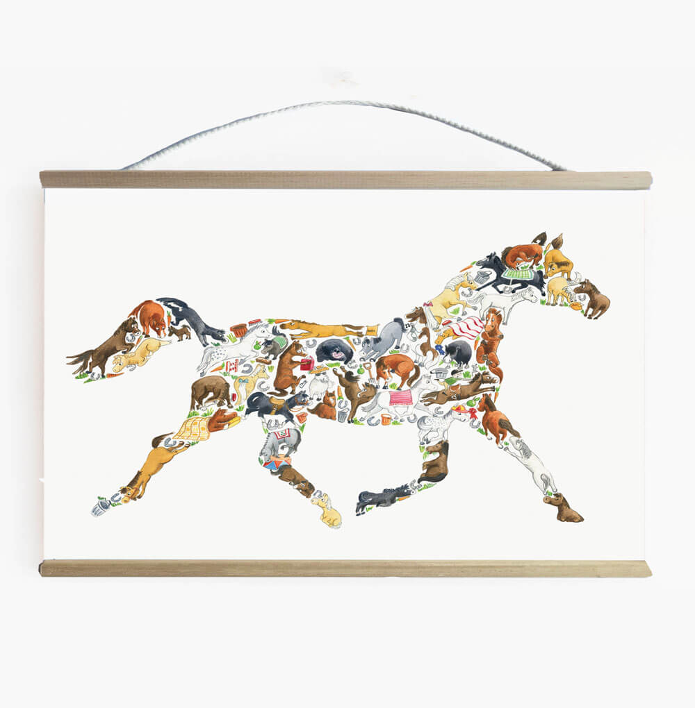 Amazing Horse Wall Banner