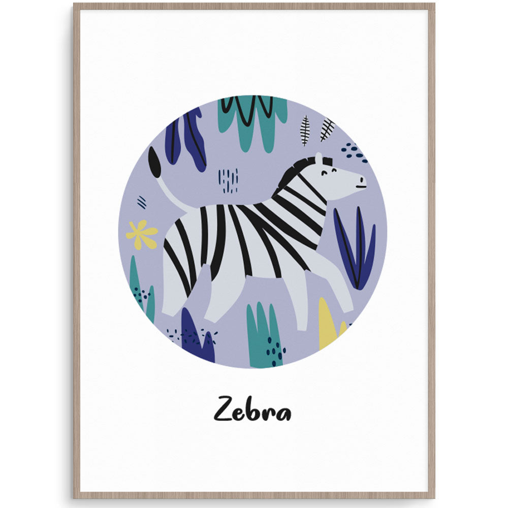 Safari Zebra