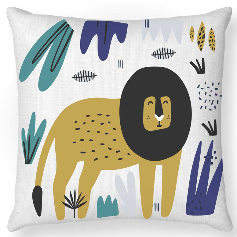 Safari Lion Cushion