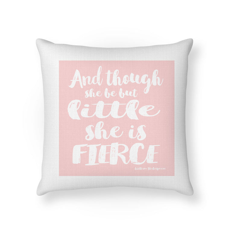 Little And Fierce Cushion