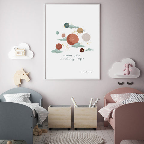 Gorgeous Quote Wall Art For Nursery Or Kids Room