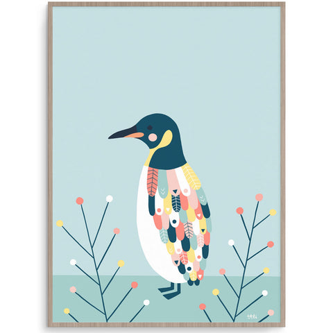 Penguin Wall Art For Boys Or Girl Room