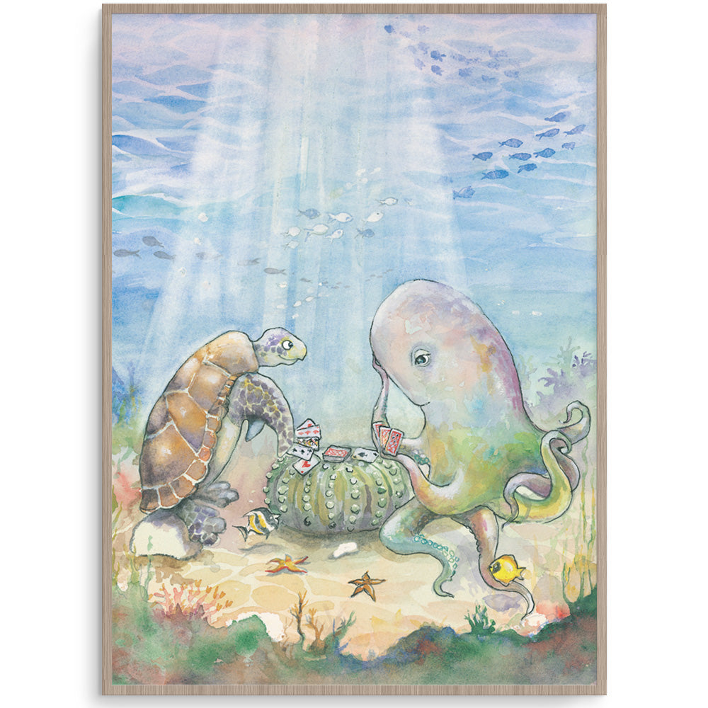 Underwater Children's Wall Art Print