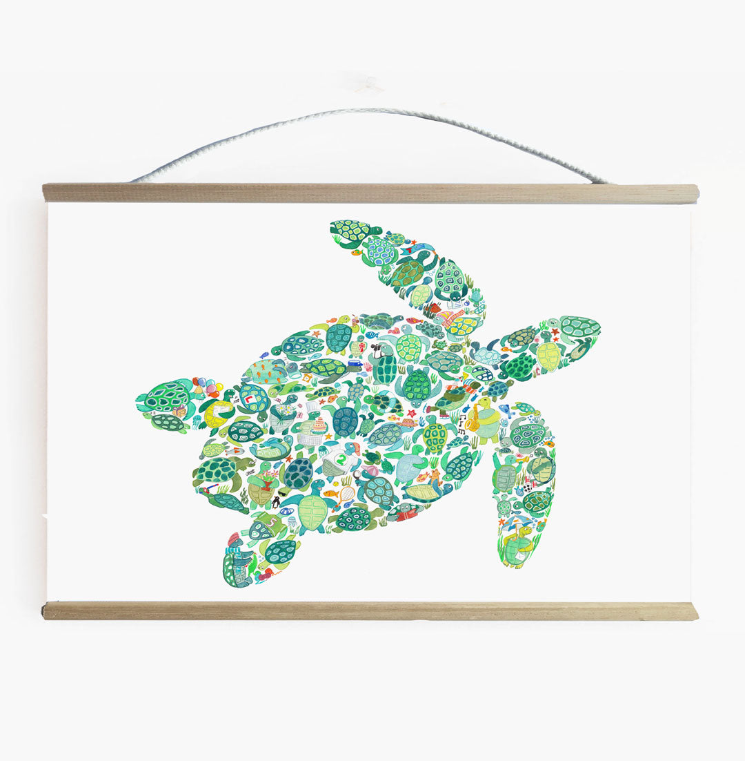 Turtle Wall Banner