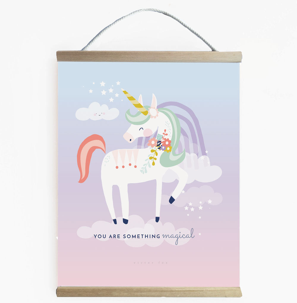 Magical Unicorn Wall Banner For Girls