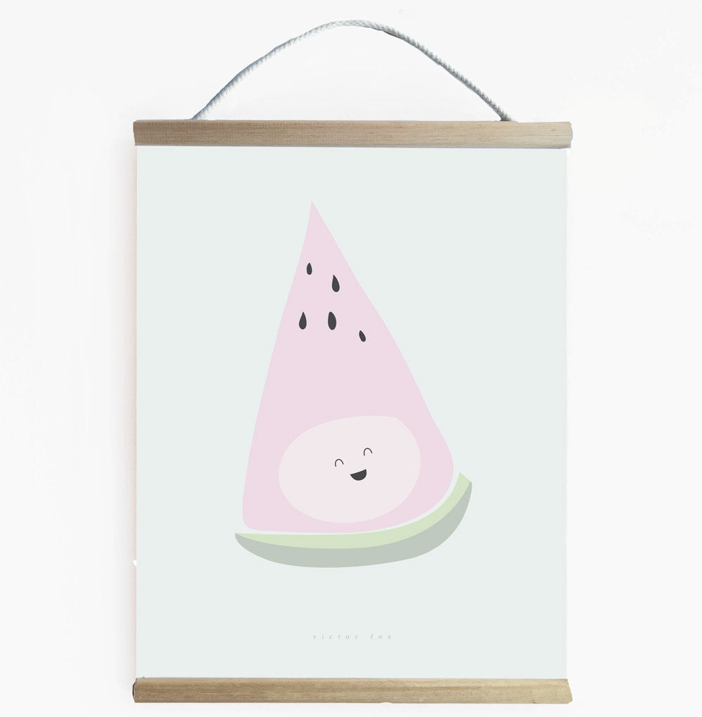 Cute And Fun Watermelon Wall Banner For Girls