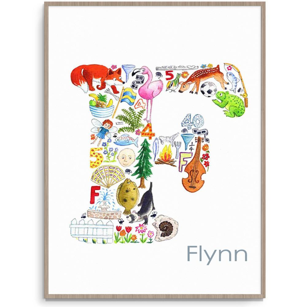 Personalised Letter Wall Art For Your Childs Room