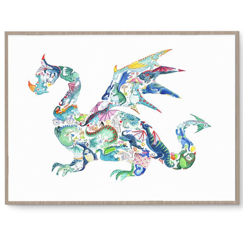 Amazing Dragon Wall Art For Boys Room