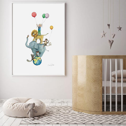 Tallest Boy Nursery Art