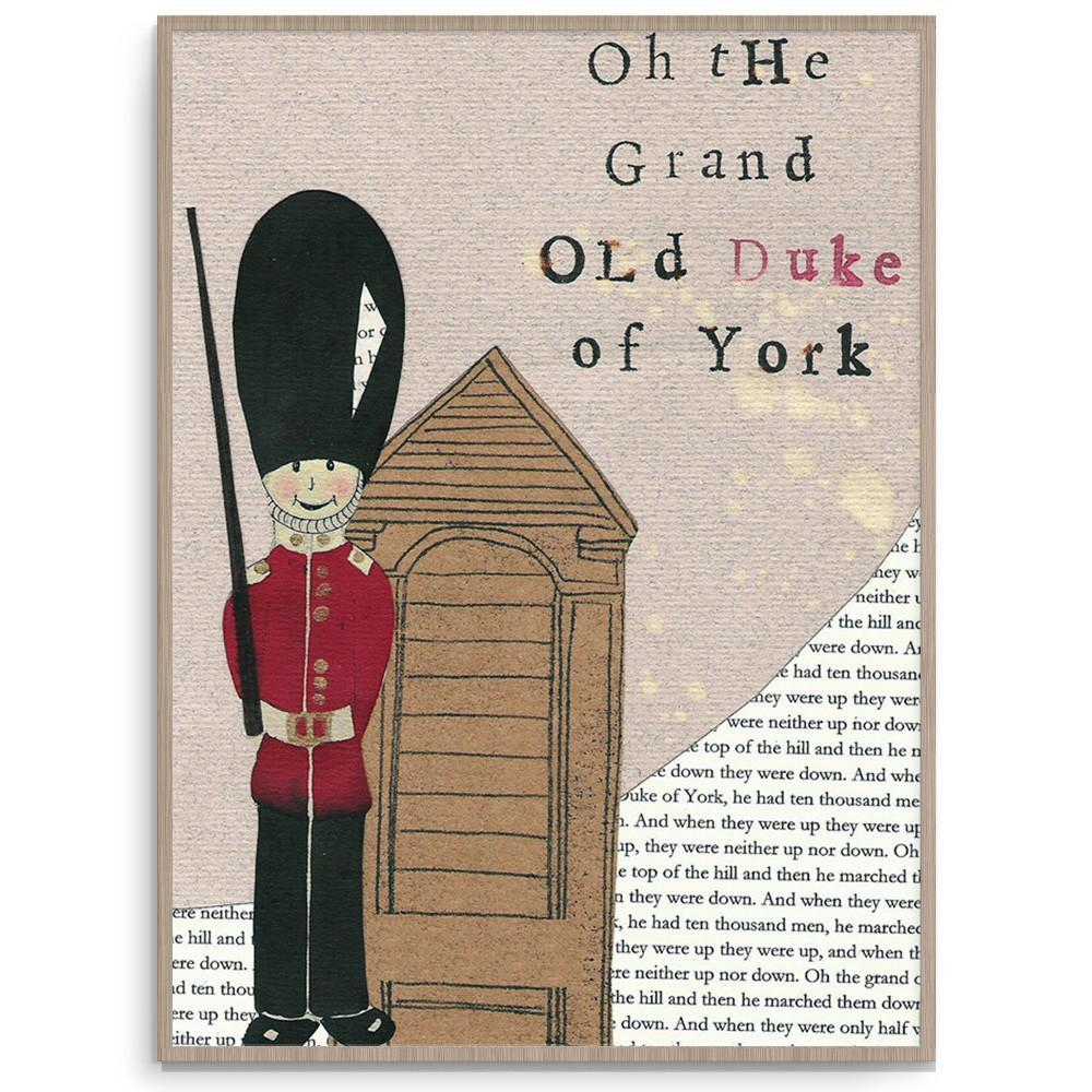 The Duke Stylish Boys Nursery Wall Art
