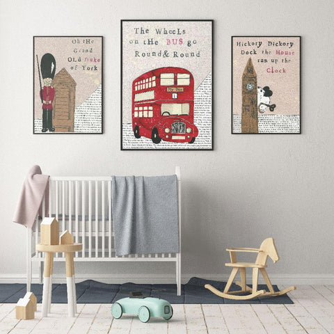 Create A Nursery Themed Around Fun Nursery Rhymes