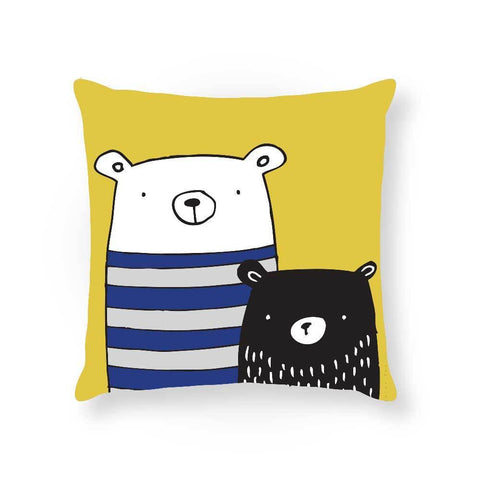 Made To Order Cushion Cushions Bear Buddies Cushion nursery art kids wall art