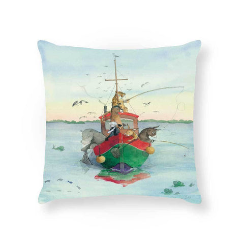 Made To Order Cushion Cushions Boating Around Cushion nursery art kids wall art