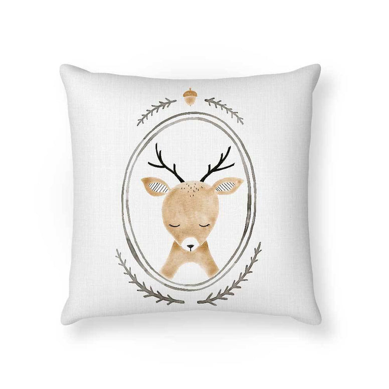 Made To Order Cushion Cushions Deer Cushion nursery art kids wall art
