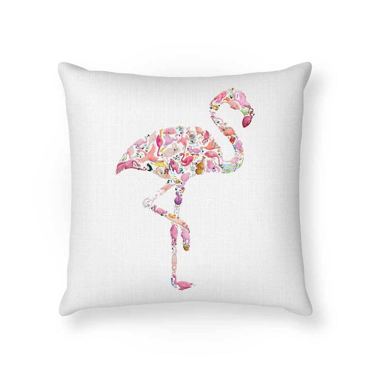 Made To Order Cushion Cushions Flamingo Cushion nursery art kids wall art