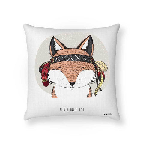Made To Order Cushion Cushions Indie Fox Cushion nursery art kids wall art
