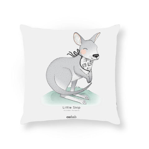 Made To Order Cushion Cushions Little Skip Cushion nursery art kids wall art
