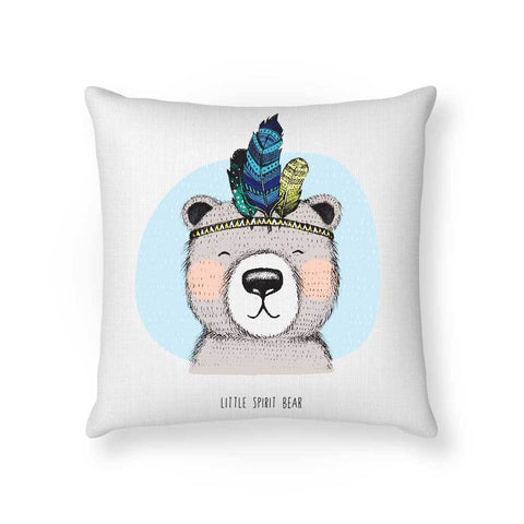 Made To Order Cushion Cushions Little Spirit Bear Cushion nursery art kids wall art