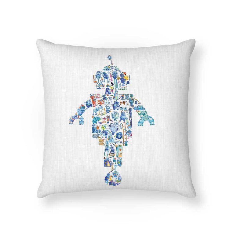 Made To Order Cushion Cushions Robot Cushion nursery art kids wall art