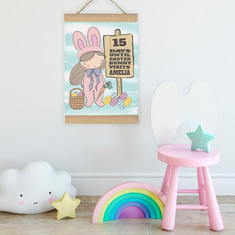 Fizzy Pop Designs Easter Countdown To Easter Banner nursery art kids wall art