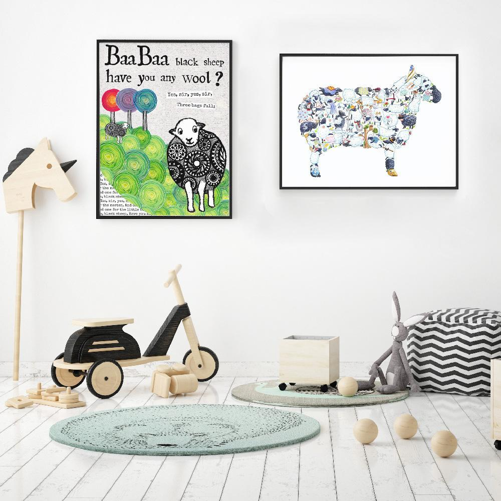 Farm Yard Inspired Wall Art For Kids