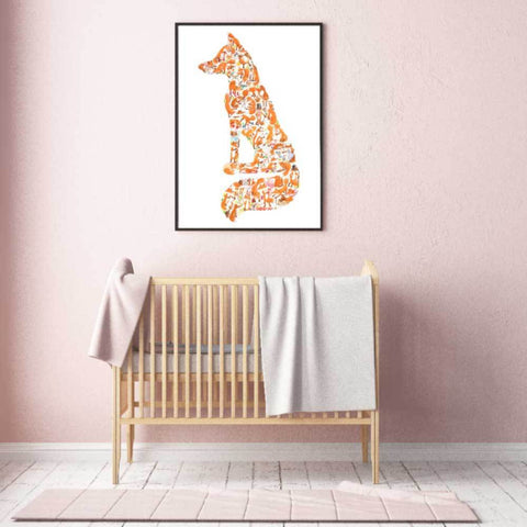 Fox Wall Art For Nursery To Teen Room
