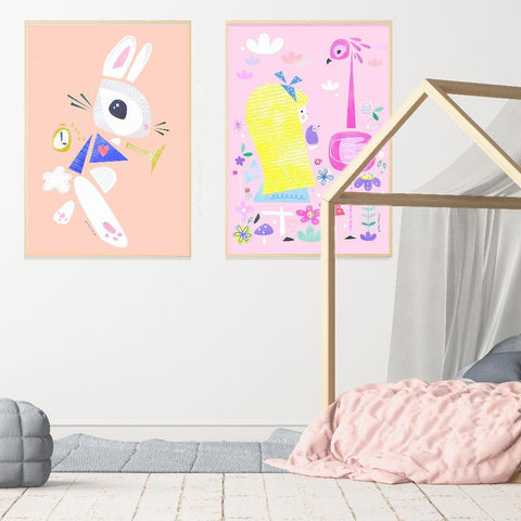Alice In Wonderland Themed Kids Room