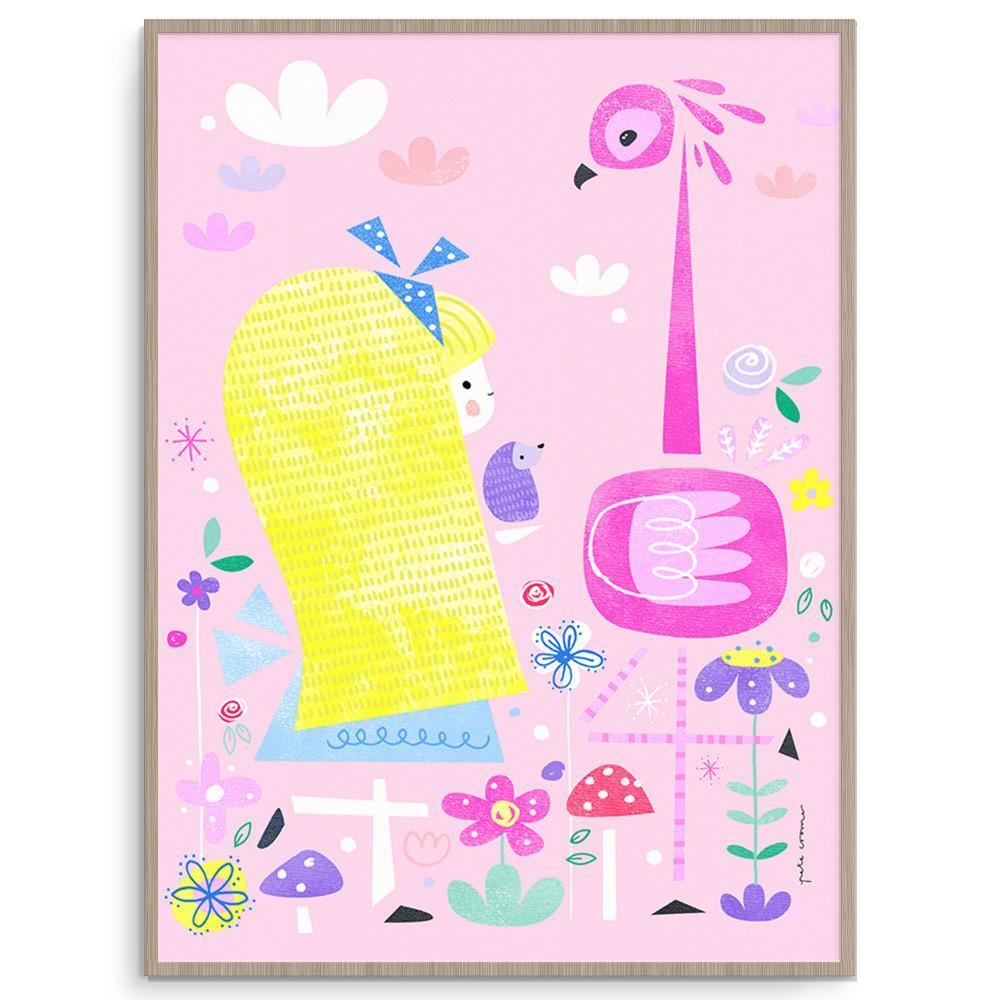 Bright And Fun Alice In Wonderland Wall Art