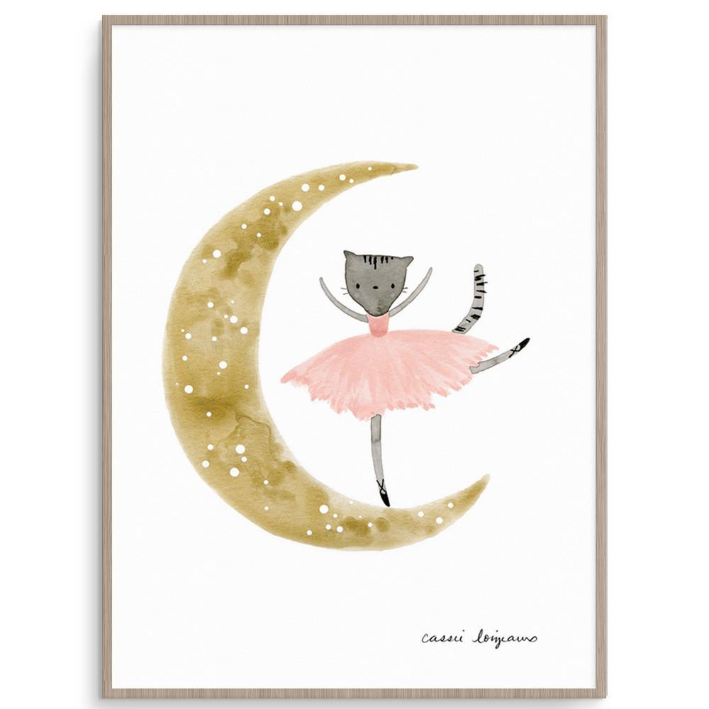 Adorable Ballerina Inspired Print For Girls
