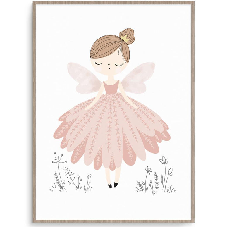 Cassie Loizeaux Girl Prints Fairy nursery art kids wall art