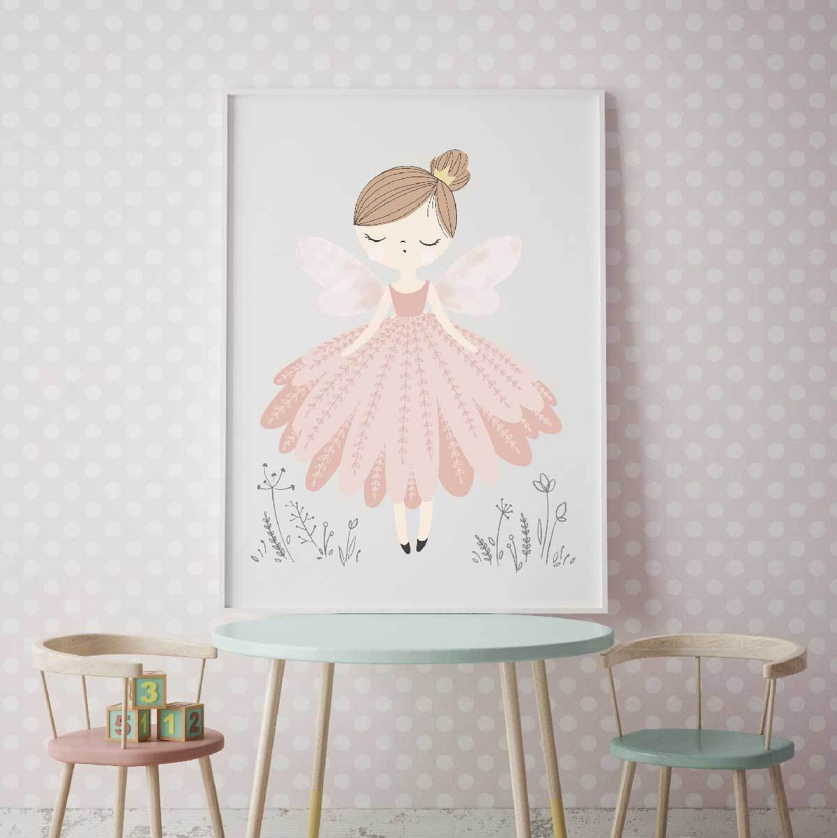 Stunning Fairy Print For Girls