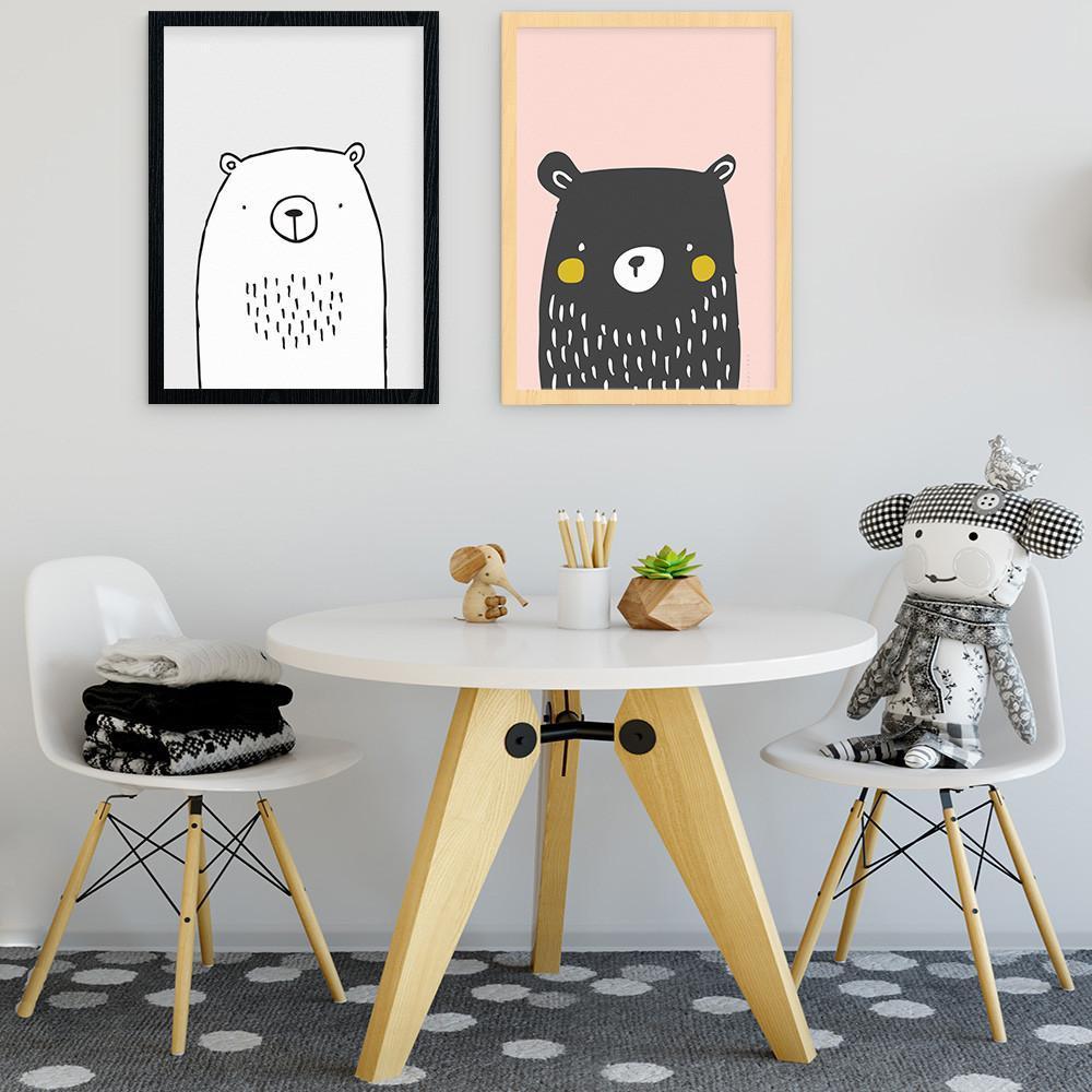 Cute And Stylish Bear Print For Girls