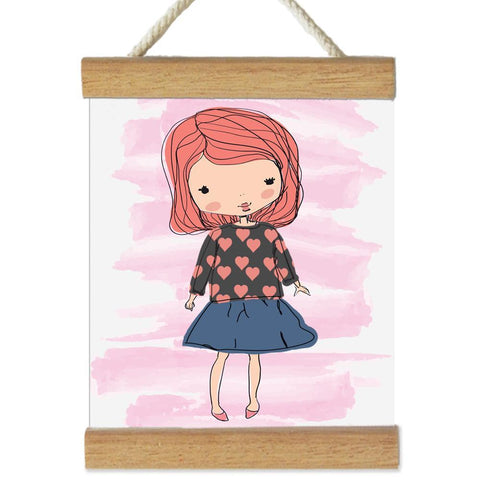 Fizzy Art Wall Décor Change The Outfit Wall Banner - Dress Me Up nursery art kids wall art