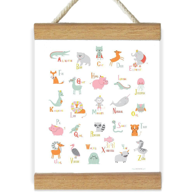 Llama Creations Wall Décor Cute Animals Canvas Banners nursery art kids wall art