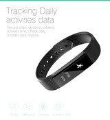 Fitness aktivitetstracker - Sort - ID115 - 2019 - OtherStuff.dk