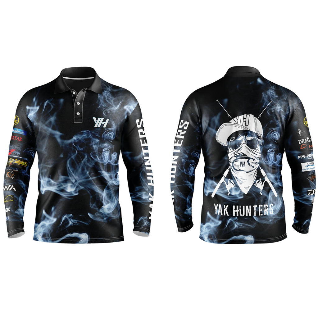 Yak Hunters 'Bones' Collection Fishing Shirts