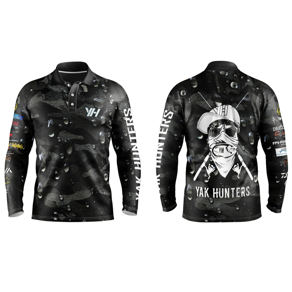 Yak Hunters 'Bones' Collection Fishing Shirts - Yak Hunters Australia