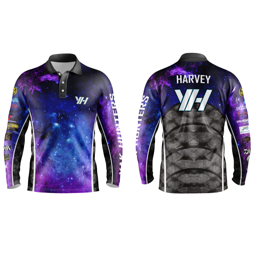 Yak Hunters 'Galaxy' edition shirt (W/Tacticool) - Yak Hunters Australia