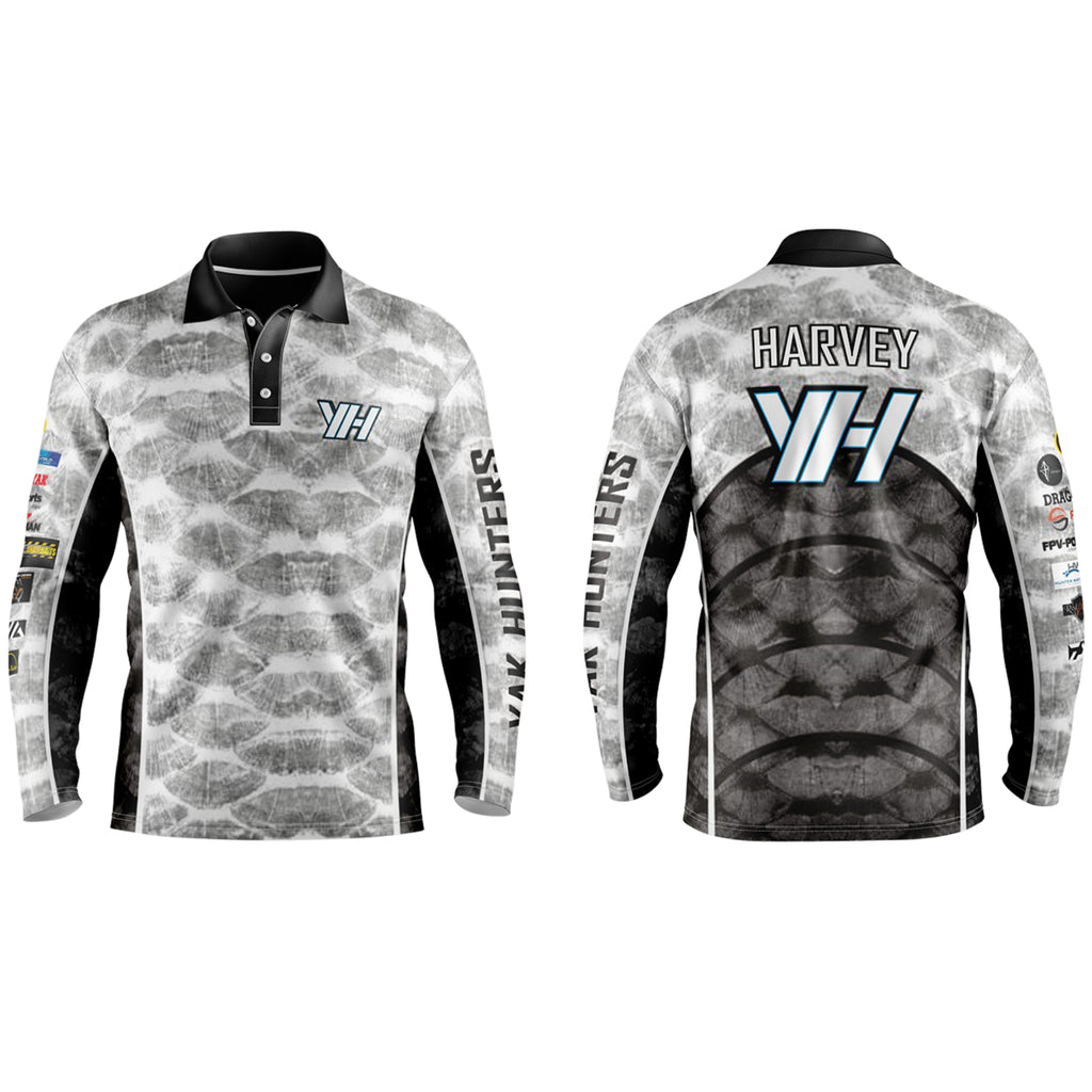 Yak Hunters VORTEX Fishing Shirts (W/Tacticool) - Yak Hunters Australia