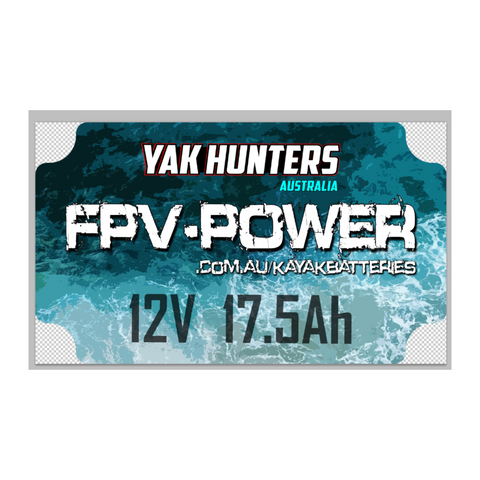 YH / FPV-POWER Lithium Kayak Battery