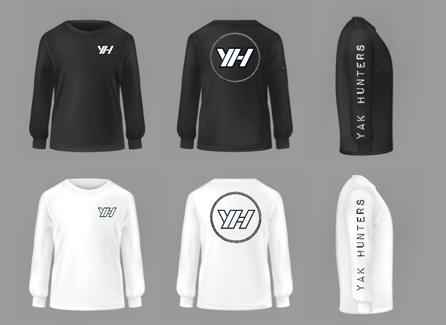 YH Long Sleeve Shirts - Yak Hunters Australia