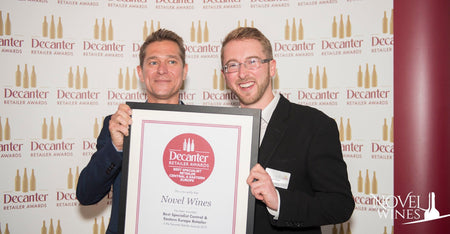 Novel Wines WINS Decanter Award for Best Specialist Retailer