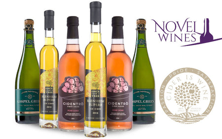 New Ciders Introduced in Partnership with the Cider Is Wine Alliance