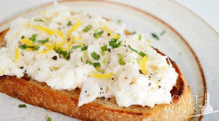 Crab toaste and lemon aioli recipe