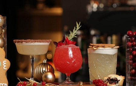 Festive Gin Cocktails!