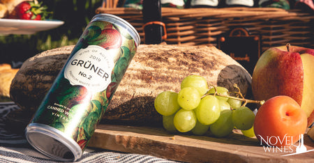 Gruner Veltliner in a can